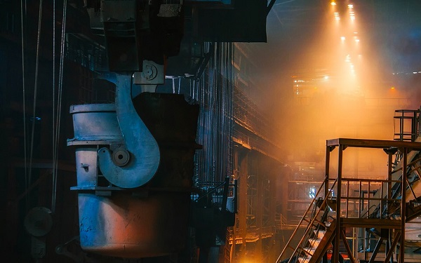 Climate change and the production of iron and steel