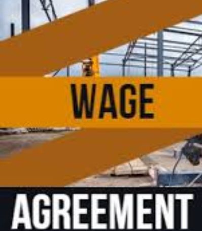 Wage Agreement 01 October 2021 to 30 November 2021